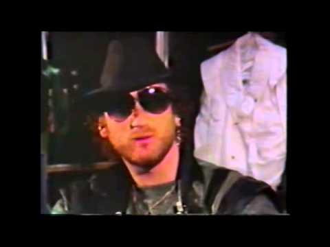 Deep Purple discussing the reunion tour on Detroit TV 1985