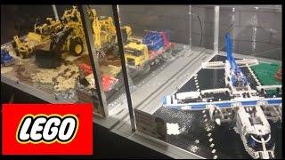 DIGGER LEGO Technic construction machines / Największa wystawa klocków LEGO * Wrocław Stadion 2015 *