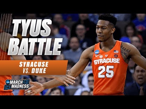 Syracuses Tyus Battle scores 19 points in the Sweet 16