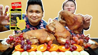 CRISPY PATA X2 MUKBANG COLLABORATION with @RUTOT Vlog