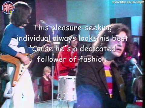 kinks-dedicated follower of fashion (with lyrics)