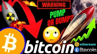 RALLY or DUMP for BITCOIN LITECOIN ETHEREUM and the DOW JONES crypto price, analysis, news, trading