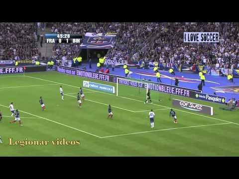 EURO 2012: France 1-1 Bosnia-Herzegovina (Francuska - BiH) Full Highlights 11-10-2011 HD