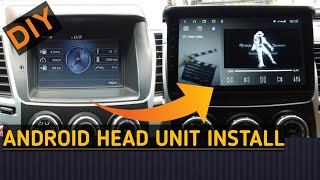 How to Install Android Stereo Head Unit on Montero Sport