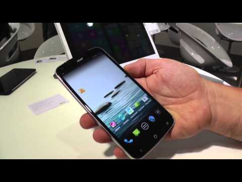 Acer Liquid S2 Hands on at IFA 2013