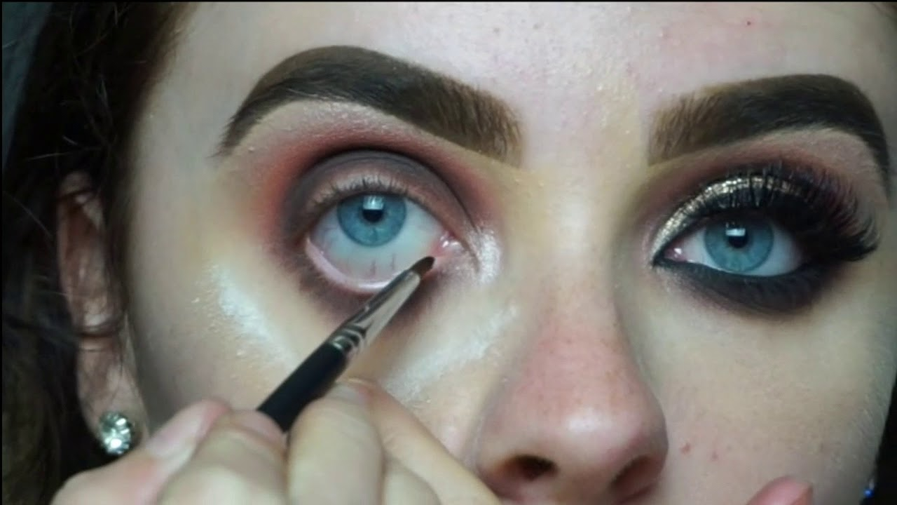 Asian Bridal Eye Makeup Tutorial Aine Knocker Youtube