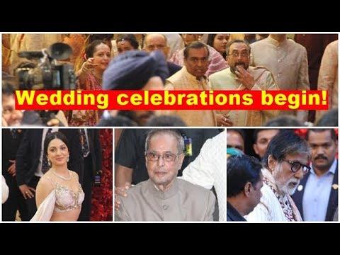 Isha Ambani-Anand Piramal wedding: Celebrations begin at Antilia