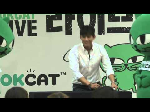 """131011 THE OKCAT LIVE - 玉澤演(옥캣)"""