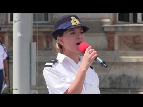 """Sergent Rebeca Ciotloș – Deşteaptă-te, române !"""", de Ziua Imnului Naţional al României"""