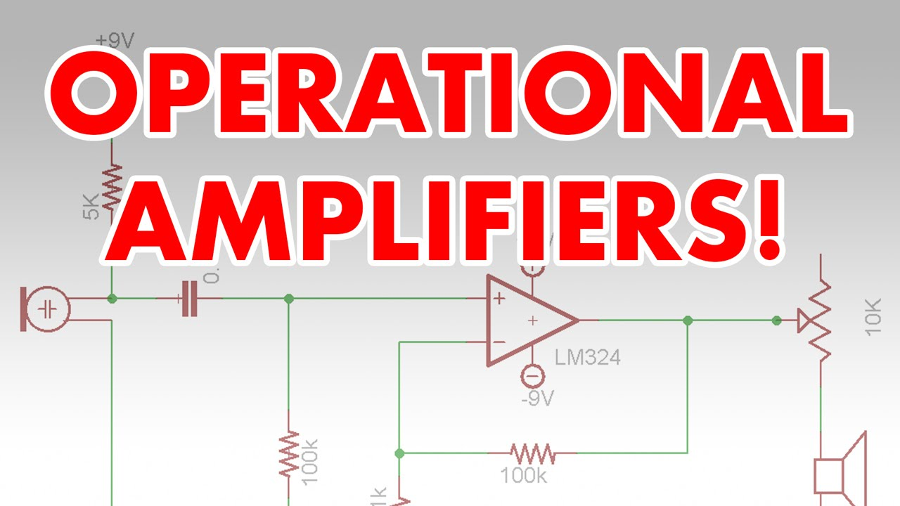 What Is An Op Amp Operational Amplifier Tutorial Super Spy Simple Intercom Circuit Transistor Microphone Youtube