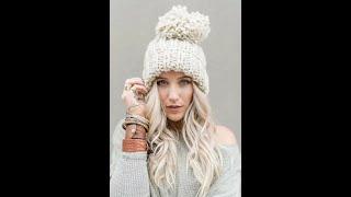 Вязаные шапки женские Модные модели Добавляйте в коллекцию