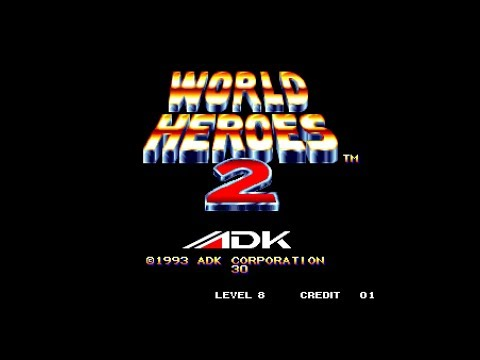 World Heroes 2 Arcade as Janne