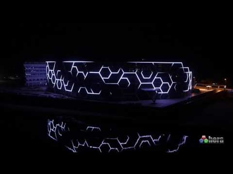 Bosphorus Hotel  Facade Lighting-Dış Cephe Aydınlatma Pixel Led /Antalya - Turkey