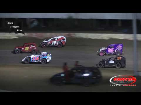 Modlites vs DwarfCars Race At Canyon Speedway Park September 4th 2016