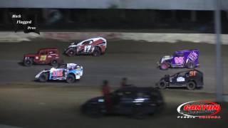 Canyon Speedway Park Modlites vs DwarfCars Race