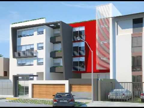 Edificio multifamiliar en 3d en arequipa doovi - Edificios minimalistas ...
