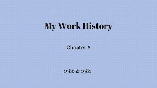 Gambar cover My Work History - Chapter 6