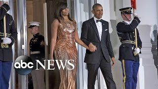 Michelle Obama's Fashion at Final State Dinner