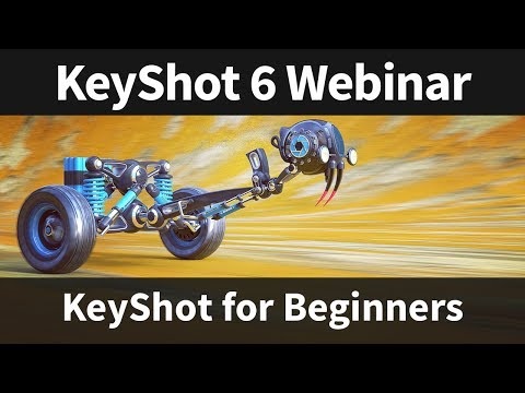 Webinar 60: KeyShot for Beginners