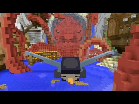 Minecraft Xbox - Glide Mini-Game - Beasts Map Pack