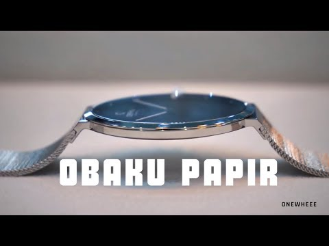 Obaku Papir Hands On
