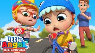 Belajar Naik Sepeda Yuk! o Lagu Sepeda Anak | Little Angel Bahasa Indonesia