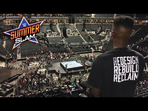 WWE SummerSlam Weekend Vlog! (WWE 2K18 Kickoff Party, Fan Meet Up, and MORE!)