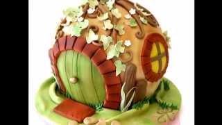 Как украсить торт.Фото блюд.