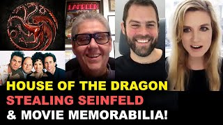 INTERVIEW - HBO's House of the Dragon, Seinfeld, & Movie Memorabilia Podcast!