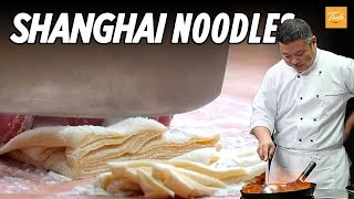 How to Make Perfect Shanghai Fried Noodles by Chinese Masterchef 上海粗炒面
