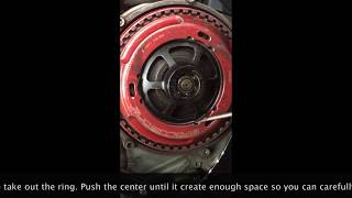 how to remove and install STM Clutch Evoluzione