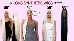 INCHES HAUL: I BOUGHT  THE LONGEST SYNTHETIC WIGS EVER?? FT. SAMSBEAUTY.COM
