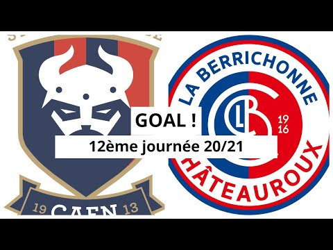 Caen Chateauroux Goals And Highlights