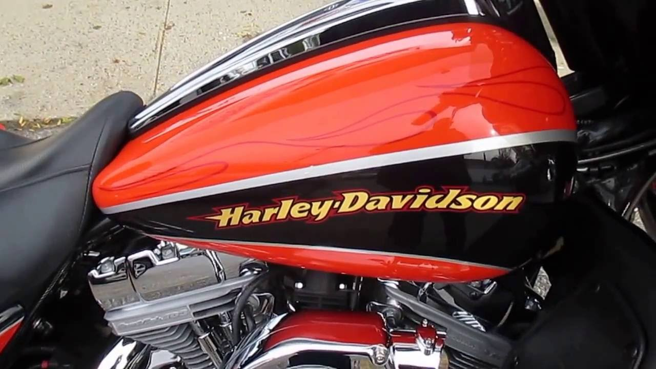 Harley Davidson Luggage >> U1801 2004 HARLEY-DAVIDSON FLHTCSE SCREAMIN' EAGLE CVO ELECTRA GLIDE FOR SALE - YouTube