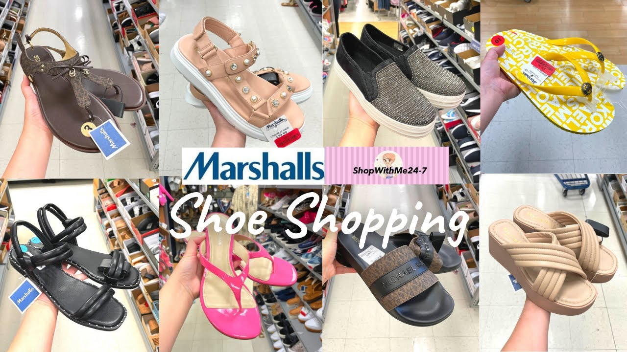 ✨MARSHALLS Shop With Me✨ Shoe Shopping | New Finds & Clearance Finds | Women's Shoes/Sandals❤️
