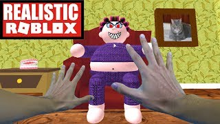 Roblox realistico - ESCAPE THE EVIL GRANDMA IN ROBLOX - GRANNY HORROR GAME
