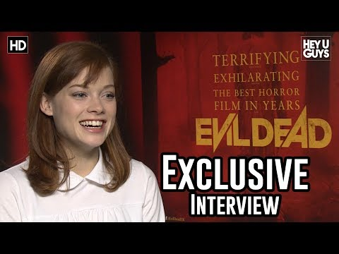 Jane Levy - Evil Dead Exclusive Interview