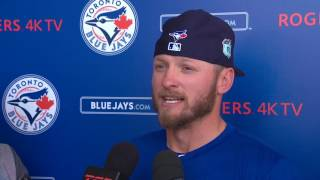 Donaldson talks about his calf-strain and his timeline to return