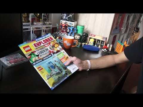Bildung mit einer Prise Lego?! LEGO Explorer Magazin Heft Nr. 3
