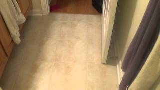 How to Paint Tile Floor Grout Lines with PolyBlend Grout Renew part 2