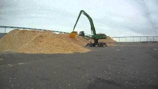 EXB-SCL 12m3 woodchips loading