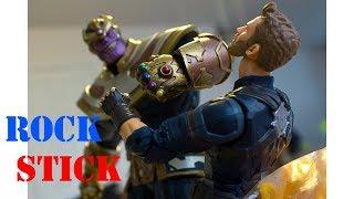 Diamond Toys Marvel Select Thanos Disney Exclusive Action Figure Review