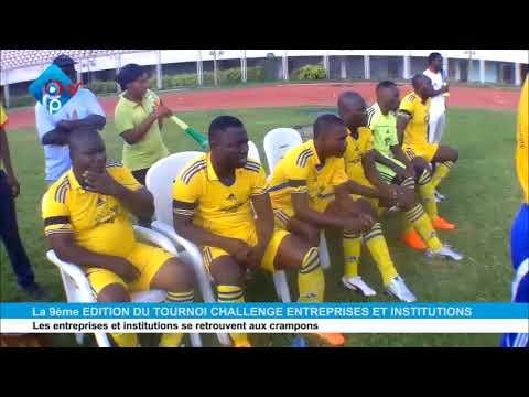 PLUSPRES TV / SPORT:LANCEMENT DE LA 9EME EDITION DU TOURNOI DES ENTREPRISES ET INSTITUTION AU BENIN.