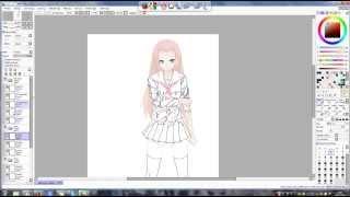 paint too sai fan art de naruto -Sakura Haruno -partie 2