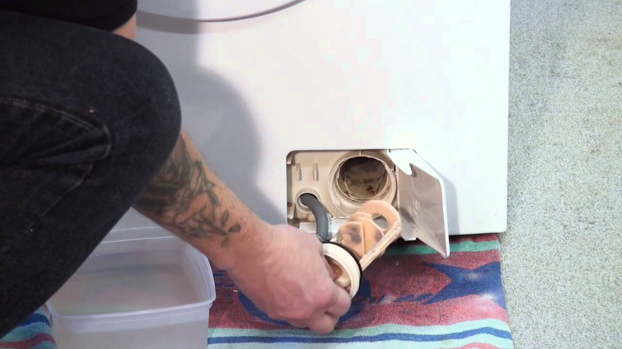 How To Clean The Filter On A Zanussi Washing Machine Youtube
