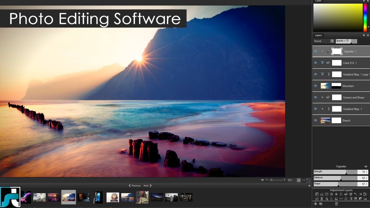 Photo Editing softwares