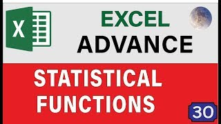 10 Advanced Excel Essentials Statistical Functions & Formulas, Tips and Tricks For Excel 2019 Users