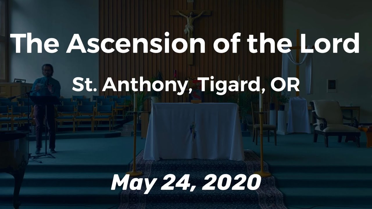 The Ascension of the Lord_Live Stream Mass