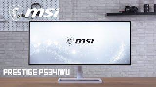 [Cowcot TV] Présentation écran MSI Prestige PS341WU
