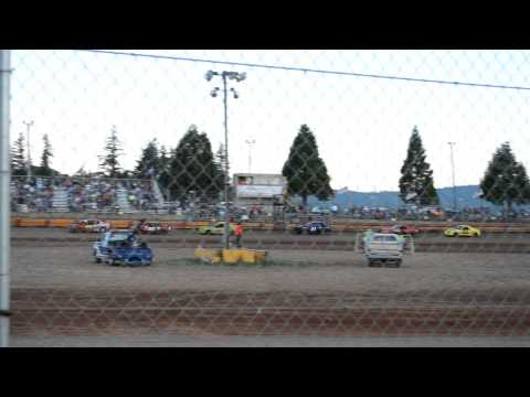 Sunset Speedway - Banks Oregon 07/20/2013 4 Cylinder Main